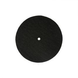 Glockenpolster, manuell, Filz, 100 mm