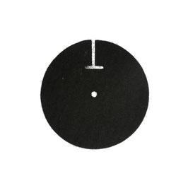 Glockenpolster, elektr., Filz, 100 mm