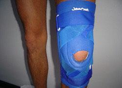 Genou renfort croisé - X Knee brace