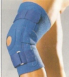 Genou rigide - Knee brace with stainless steel hinges