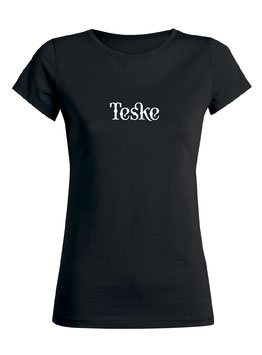 Dames T-shirt black
