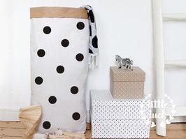 Paperbag DIY mit Punkten (4,5cm) / Papiersack XXL