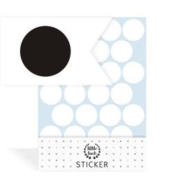 Wandsticker Dots / Konfetti, Gr. M