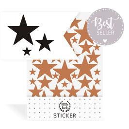 Wandsticker Sterne Set