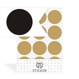Wandsticker Dots / Konfetti, Gr. L
