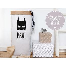 Paperbag Superheldenmaske / Papiersack XXL