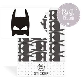 Wandsticker Superheldenmaske