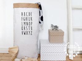 Paperbag ABC / Papiersack XXL