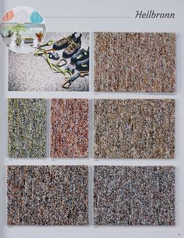 Teppichboden Heilbronn VR Bedruckte Schlinge 200 + 300 + 400 + 500 cm breit