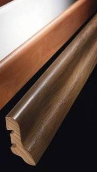 Sockelleisten 40/20 mm, Dekor passend zu Laminat-Kollektion Living