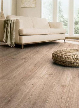 Click Design Belag Vinyl Ravello 0,30 mm oder Salerno 0,55 mm Natural Oak