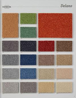 Teppichboden Vorwerk Delano texback 400 + 500 cm breit