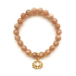 Golden Lotus Bracelet Stack