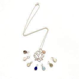 Lotus Amulet Necklace