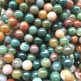 Indian Agate Beads