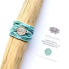 Lotus Bracelet Wrap