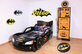 Cama Carro Individual Batman