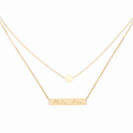 Halskette Lobelia