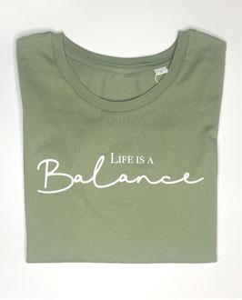 "T-Shirt ""Life is a Balance"""