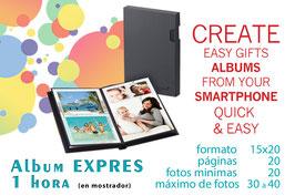 album EXPRES 15x20 20 pgs.