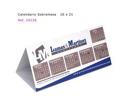 Calendario sobremesa 10x21 Triptico Mod.A