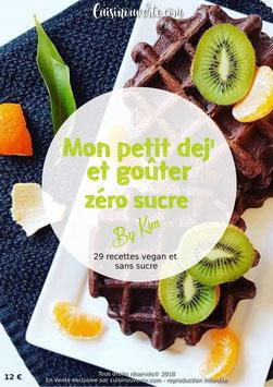 EBOOK Mon petit dej' et goûter zéro sucre