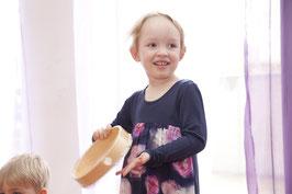 MUSIKGARTEN 2 (3-4 Jährige in Begleitung) am SAMSTAG-MORGEN