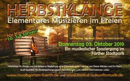 Herbstklänge-Ticket für 1 Erwachsener + 1 Kind