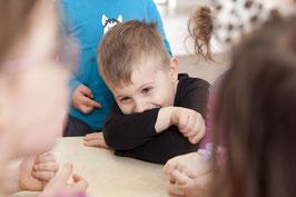 MUSIKGARTEN 2 (3-4 Jährige in Begleitung) am MITTWOCH-NACHMITTAG