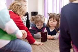 Musikalische Früherziehung TONFORSCHER 1 (4-5 Jahre ohne Eltern) am DONNERSTAG-NACHMITTAG