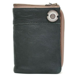 (デバイス) DEVICE BOOK型 縦型二つ折り財布 DKW-17058TQ