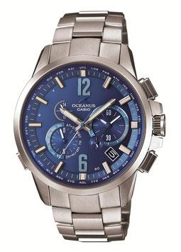 [カシオ]CASIO 腕時計 OCEANUS オシアナス ClassicLine クラシックライン 世界6局対応電波対応 Multiband6 マルチバンド6 ソーラークロノグラフウォッチ スマートアクセス機能搭載 3年保証 OCW-T2000C-2AJF メンズ