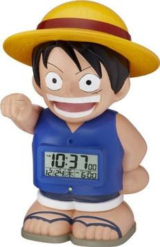 ONE PIECE(ワンピース)キャラクター目覚し時計 麦わらのルフィおしゃべり・人感センサー機能搭載