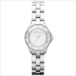 マークバイマークジェイコブス腕時計[MARCBYMARCJACOBS時計]( MARC BY MARCJACOBS 腕時計 マーク バイ マークジェイコブス 時計 )ニュー ブレード スモール[New Blade Small] レディース/シルバー/MBM3130並行輸入品