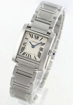 [カルティエ]CARTIER 腕時計 タンクフランセーズ SM ホワイト W51008Q3 レディース [並行輸入品]