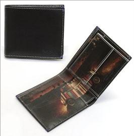 ポールスミス メンズ 小銭入れ付 二つ折り財布 ブラック/ミニクーパー/マルチストライプ AJXA 1033 W546(並行輸入品)