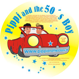 Pippi and the 50's Boy   Promo- CD