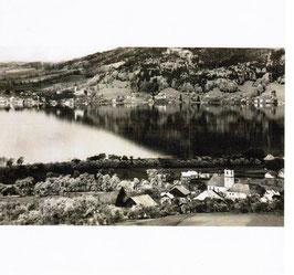 Billet - Sicht von Weyregg auf Attersee
