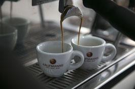 Gutschein für die Teilnahme an einem KAUFMANNS Latte ArtKurs