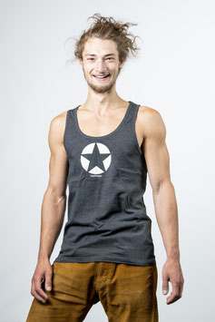 Tank Top anthrazit meliert unisex