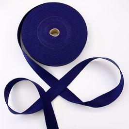 GURTBAND: blau, uni, Baumwolle