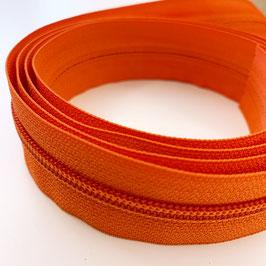 REIßVERSCHLUSS: orange, Meterware, 3 cm breit