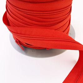 REIßVERSCHLUSS: rot, Meterware, 3 cm breit