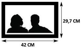 Portrait A3 - 2 Visages