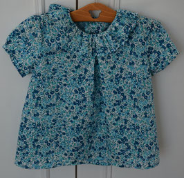 Blouse 2 ans Wiltshire crystal manches courtes