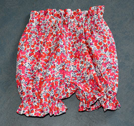 bloomer taille naissance liberty Wiltshire rouge