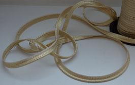 Passepoil Lurex doré vendu par 3 mètres