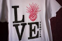White Tshirt Love Tequila