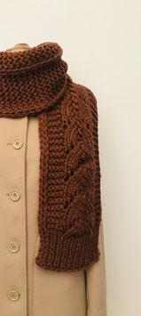 FADRINA scarf amber
