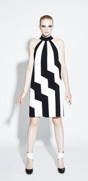 Sommerkleid Black+White